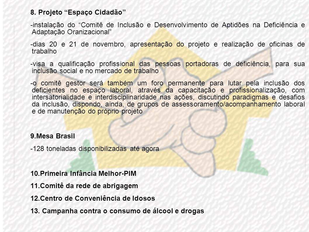 4.Fepagro pretende instalar centro de capacitação para jovens da área rural -qualificação da mão-de-obra existente -estímulo ao empreendedorismo e a d