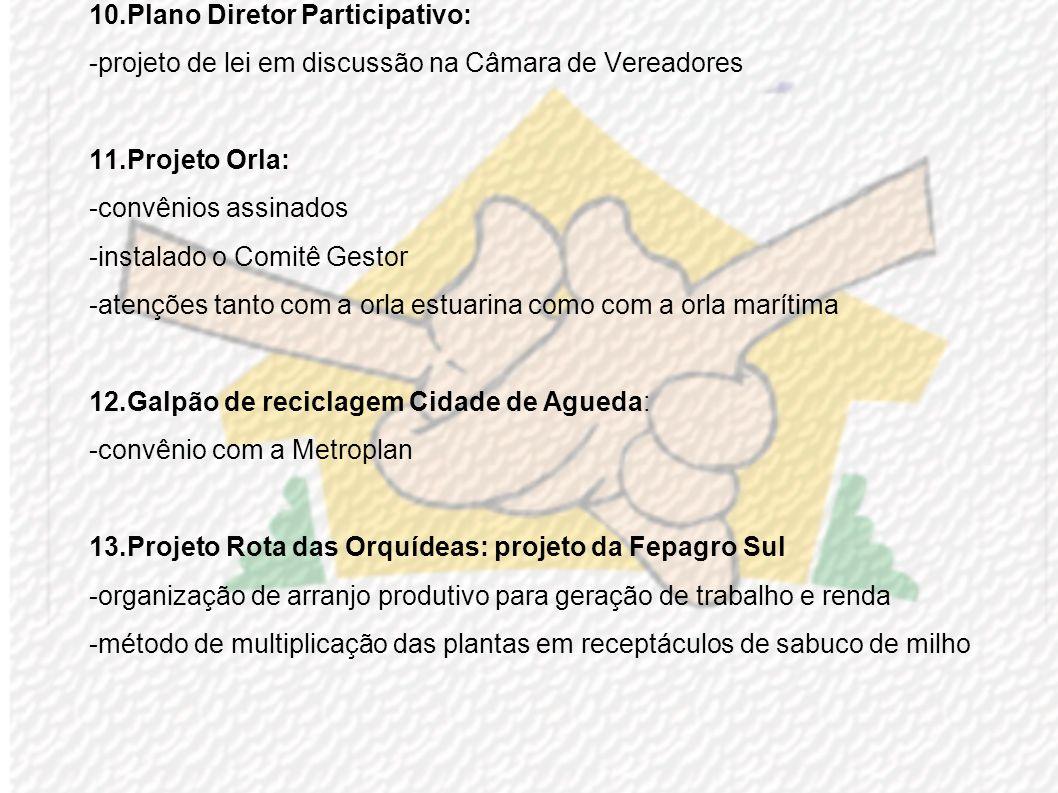 6.Comitê gestor das APPs do Distrito Industrial -recuperação das áreas de marismas (macegas) -parceria FURG – SMMA – SEDAI -aprovado regimento interno