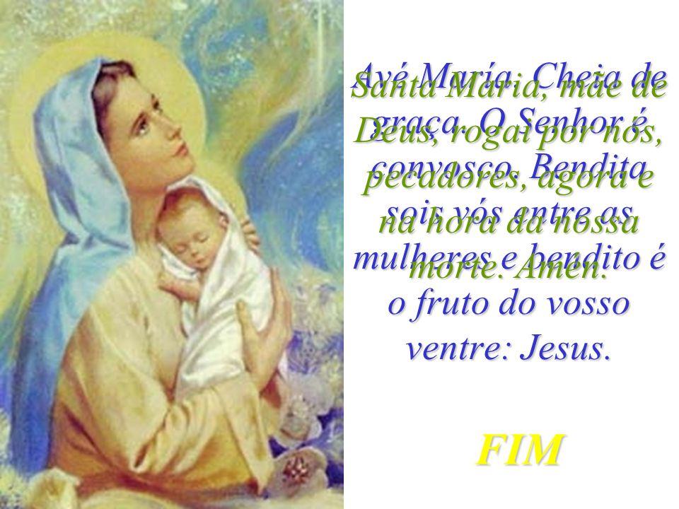 Jesus enviou uns anjos que despertaram a Virgem Maria e a levaram com grande alegria para o Céu. Os anjos fizeram uma grande festa. E Deus coroou a Vi