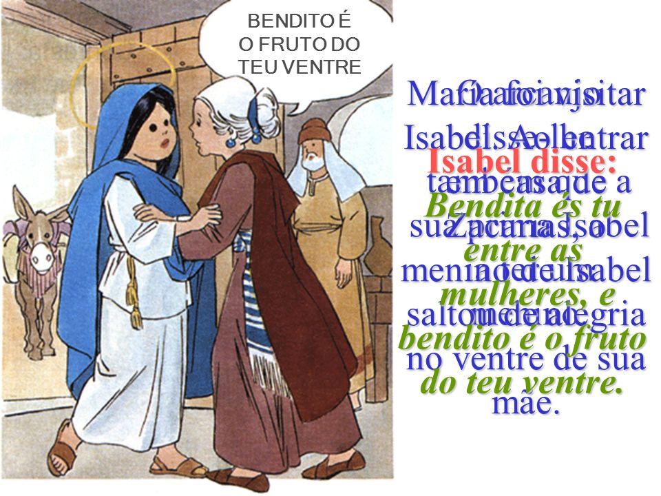 Maria vivia em Nazaré. Era uma rapariga prometida em matrimónio a um jovem chamado José. Um dia o arcanjo Gabriel, foi enviado o arcanjo Gabriel, foi