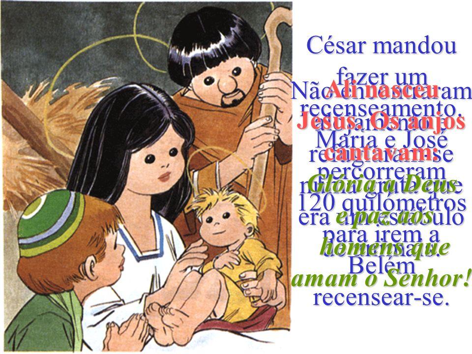 O arcanjo disse-lhe também que a sua prima Isabel ia ter um menino. María foi visitar Isabel. Ao entrar em casa de Zacarias, o menino de Isabel saltou