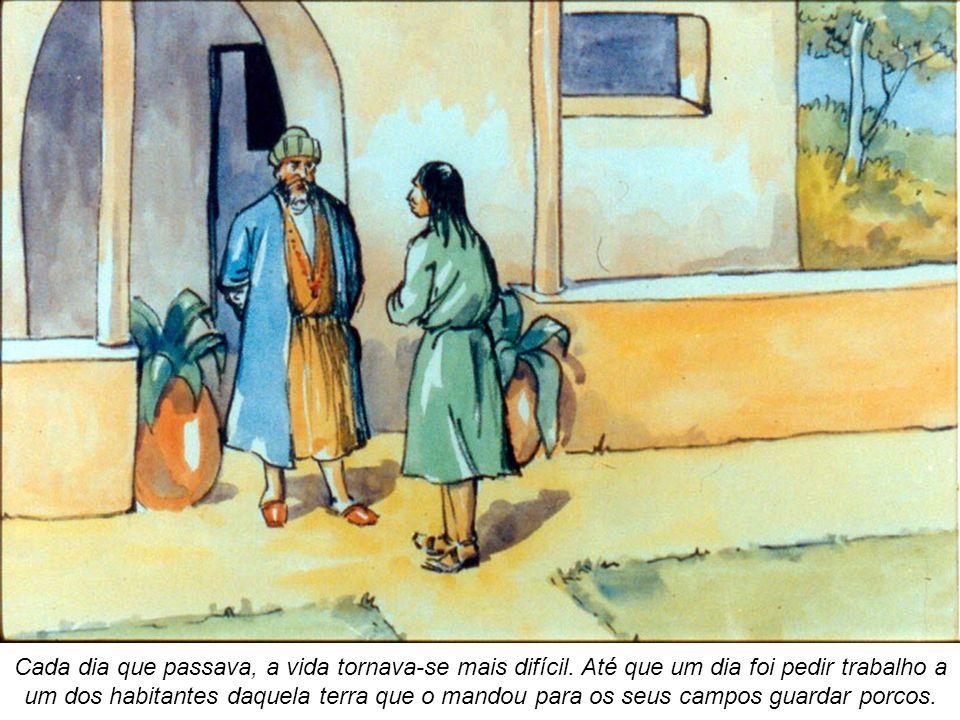 O pai respondeu-lhe: «Filho, tu sempre estás comigo e tudo o que é meu é teu.