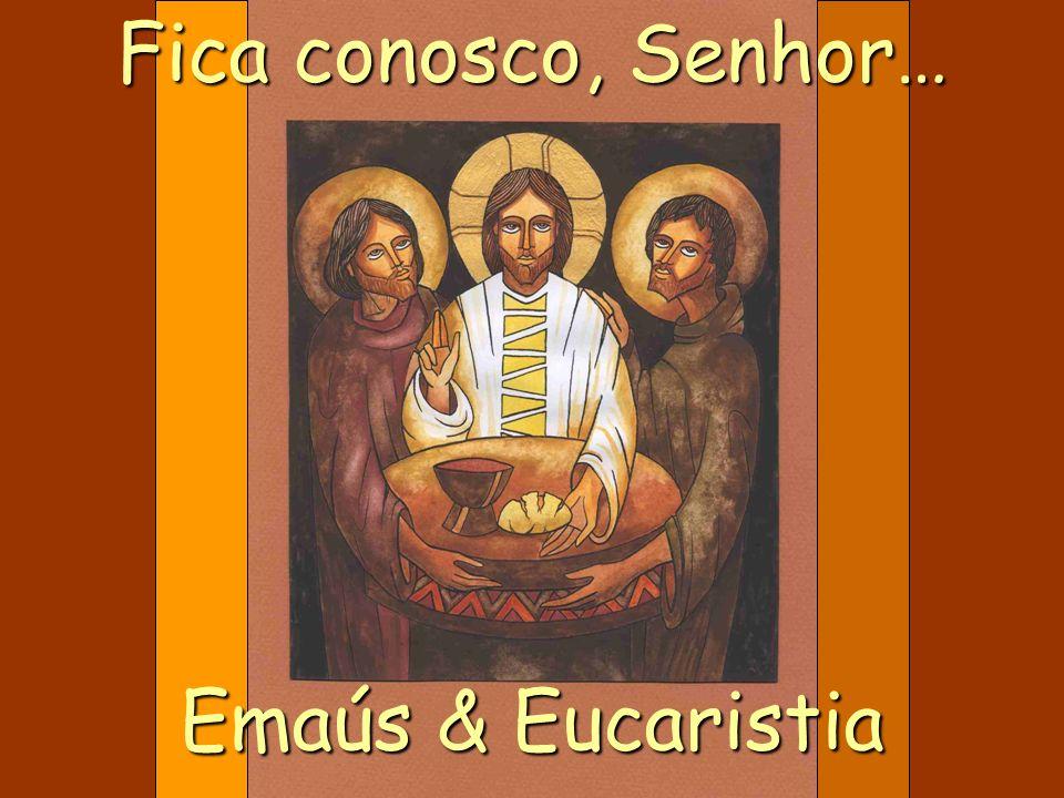 O diálogo dos dois discípulos com o ressuscitado teria chegado ao fim se estes não o tivessem convidado para ficar com eles.