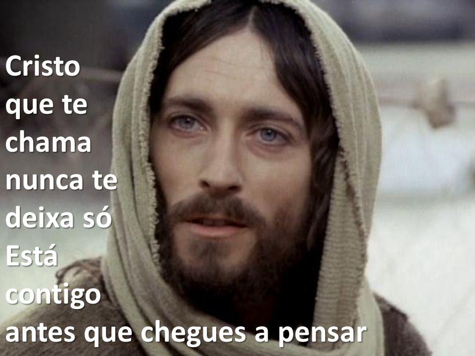 Mesmo que duvides, não duvides de ti É na tua cruz que Ele está