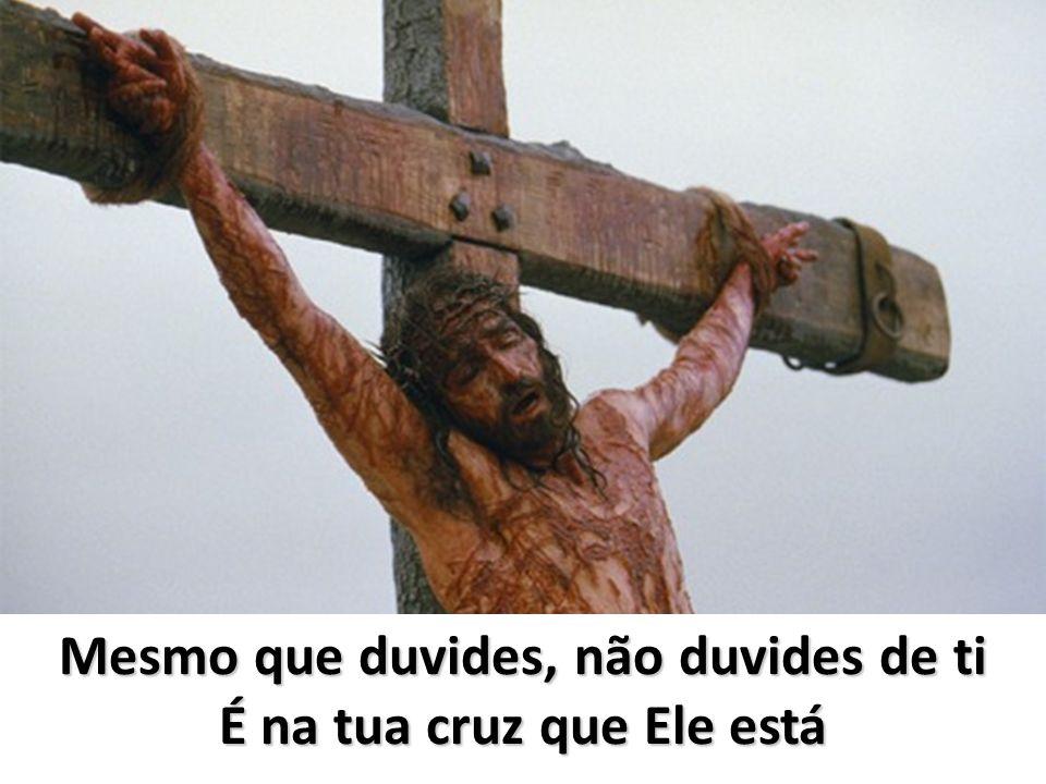 Toma a tua Cruz e segue-Me Vive sem medo e segue-Me Vive sem medo de te dare s