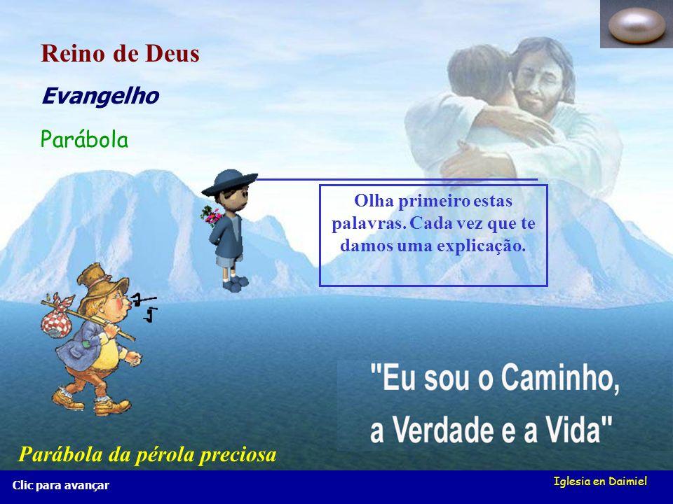 Iglesia en Daimiel Olá, meninos (as), vou apresentar-vos... Parábolas do Reino de Deus Parábolas do Reino de Deus Também vos apresento João, um jovem