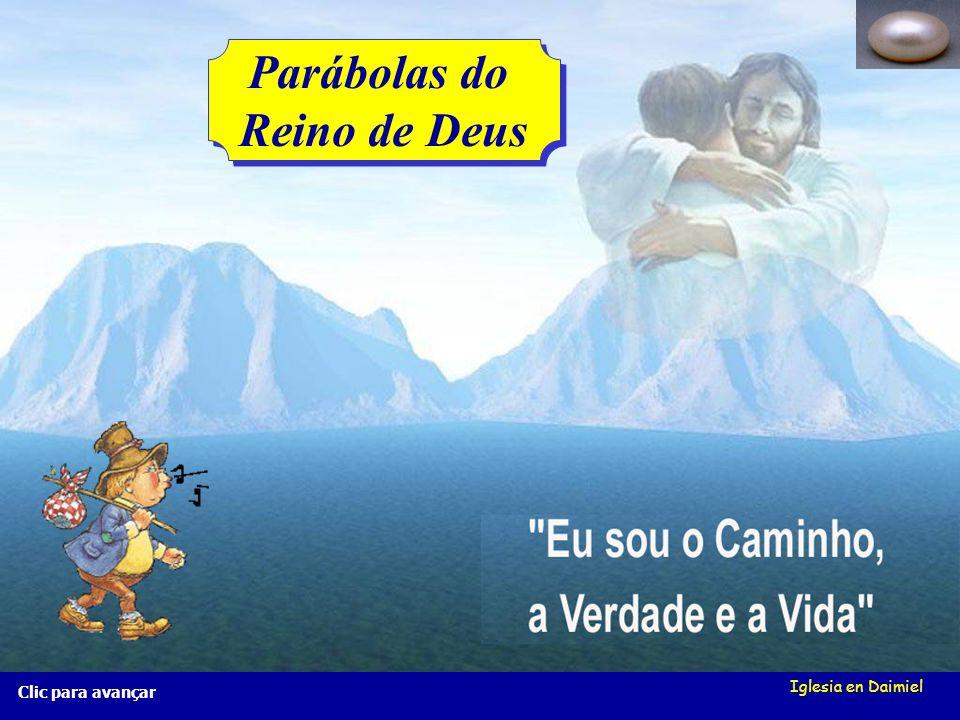 Iglesia en Daimiel A pérola preciosa Mt 13, 45-46 A pérola preciosa Mt 13, 45-46 Clic para avançar Porque é que o Reino de Deus é uma pérola? Porque é