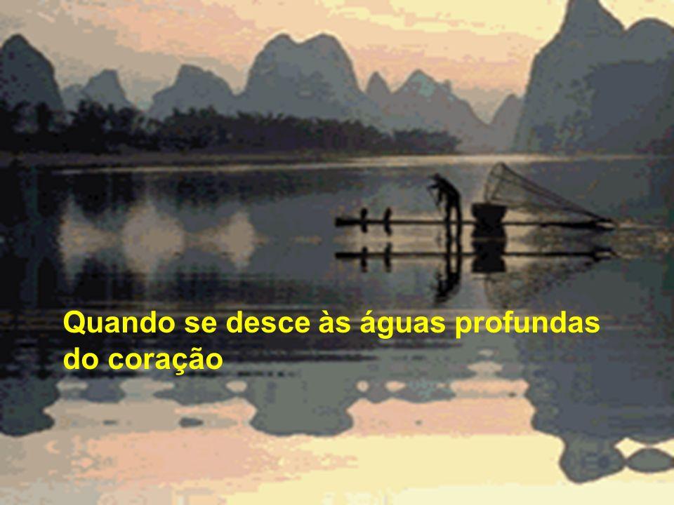 Passo a passo, momento a momento Oferta da água, que jorra de dentro E se faz fonte a transbordar.