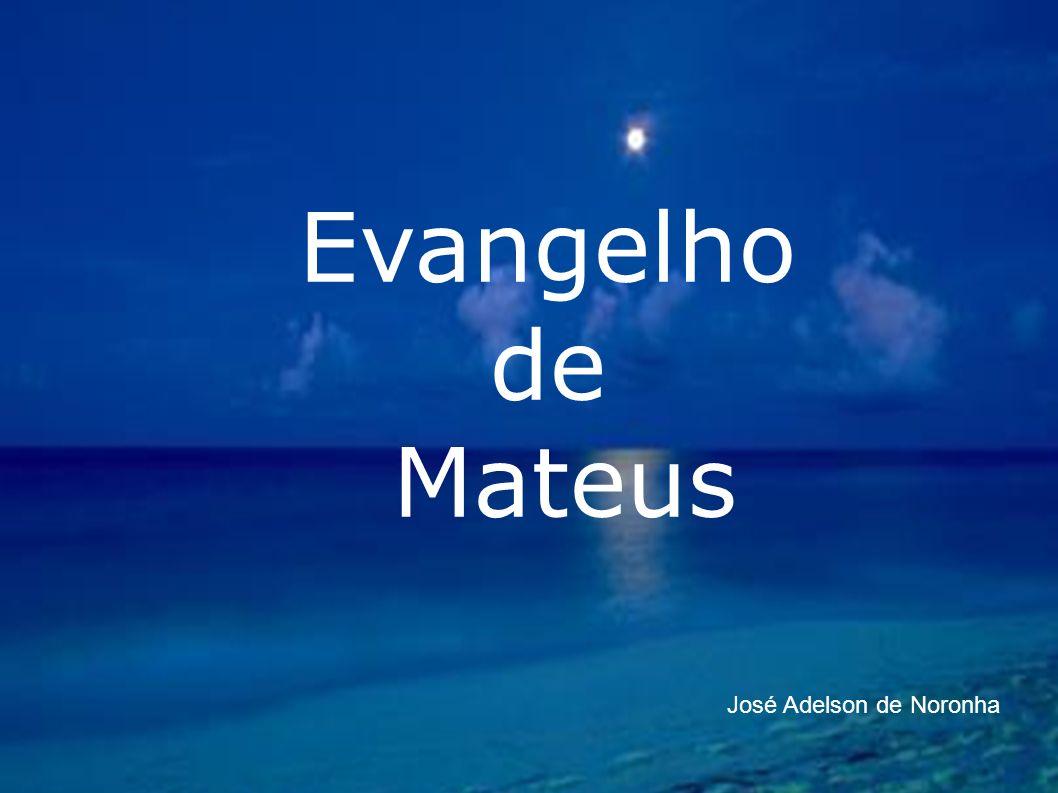 Quem foi Mateus Conhecido também como Levi, era filho de Alfeu (Mc 2:14) mas não o irmão de Tiago (Mt 10:4); Fiscal de impostos em Cafarnaum; Instruído.