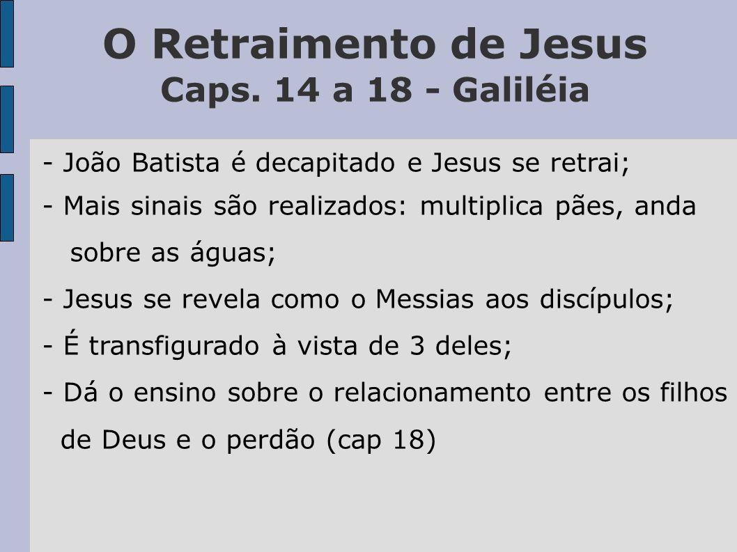 Jesus é Rejeitado Caps.