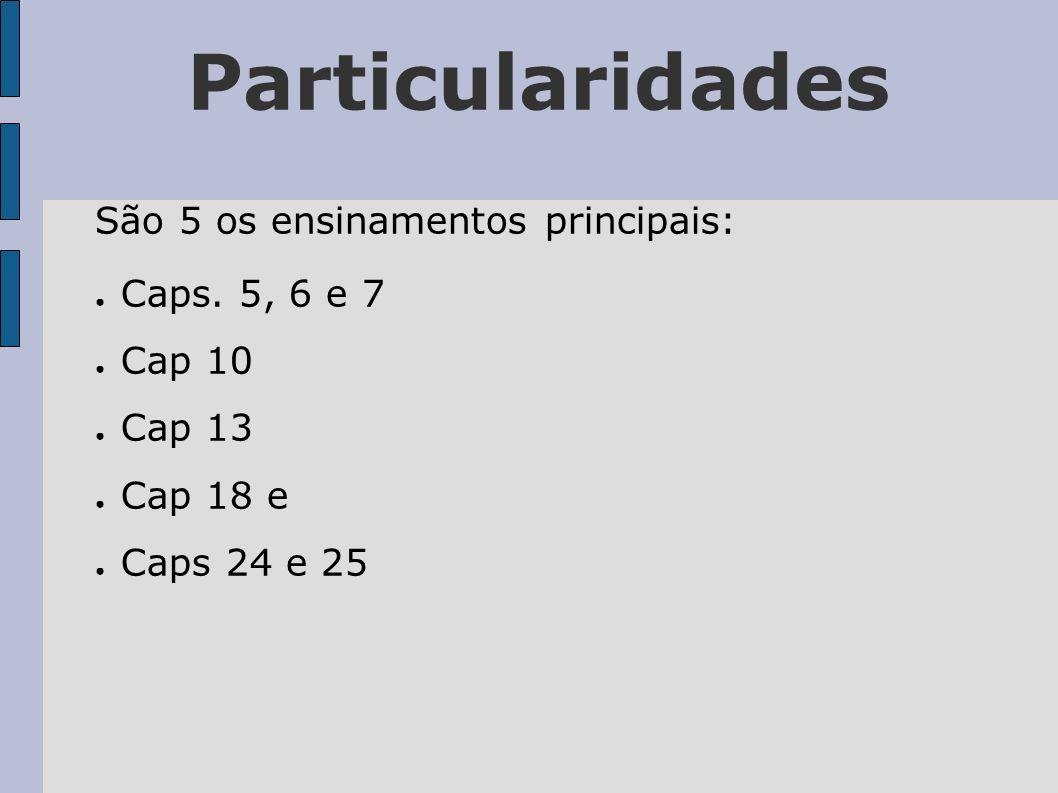Particularidades Os Caps.