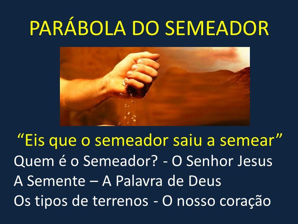 Resultado de imagem para parabola do semeador
