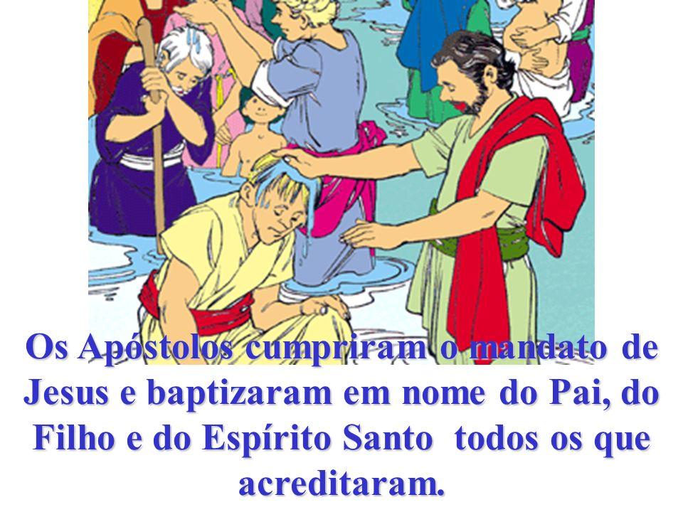 Jesus enviou o Espírito Santo à Virgem e aos Apóstolos. Jesus, envia-nos o teu Espírito.