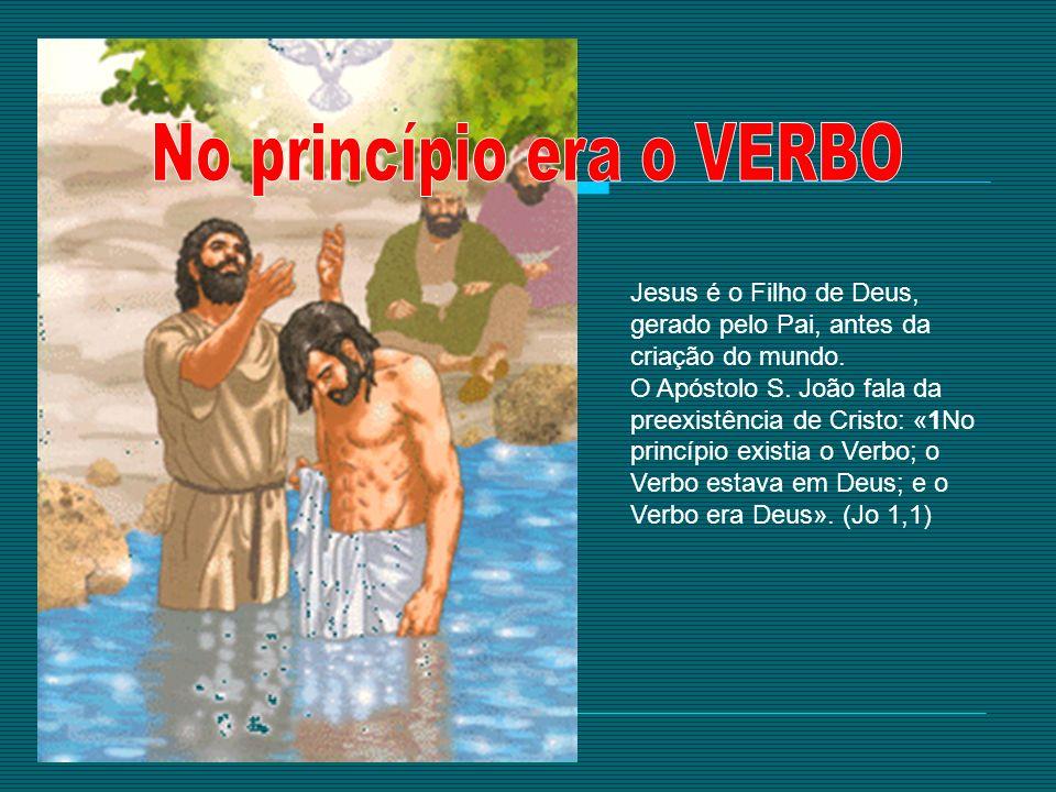 quer demonstrar que Jesus é o Filho de Deus.
