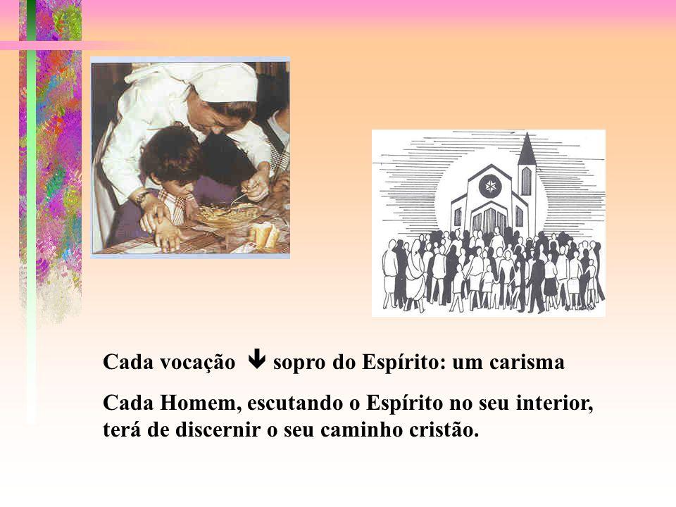 3- Chamados à vida cristã: a ser cristãos - pessoas em Cristo, no Espírito: VOCAÇÃO BAPTISMAL 3.4- Chamados a ser cristãos de um modo próprio, segundo