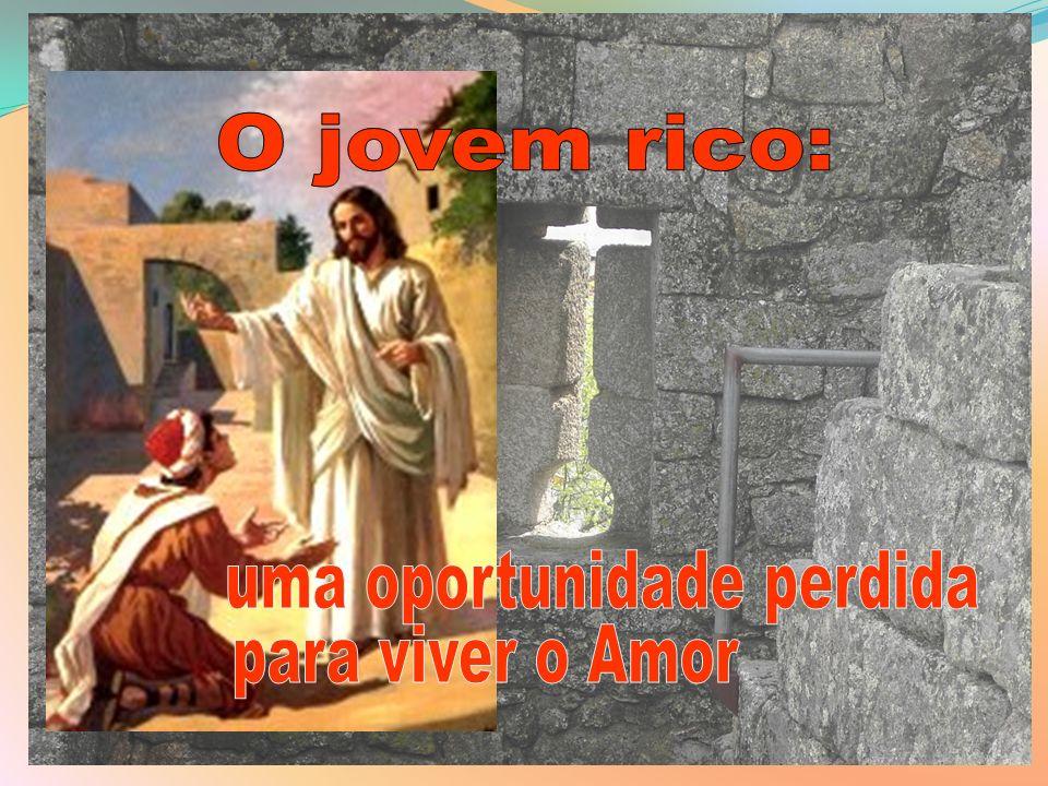 17Quando se punha a caminho, alguém correu para Ele e ajoelhou-se, perguntando: «Bom Mestre, que devo fazer para alcançar a vida eterna?» 18Jesus disse: «Sabes os mandamentos … ?»