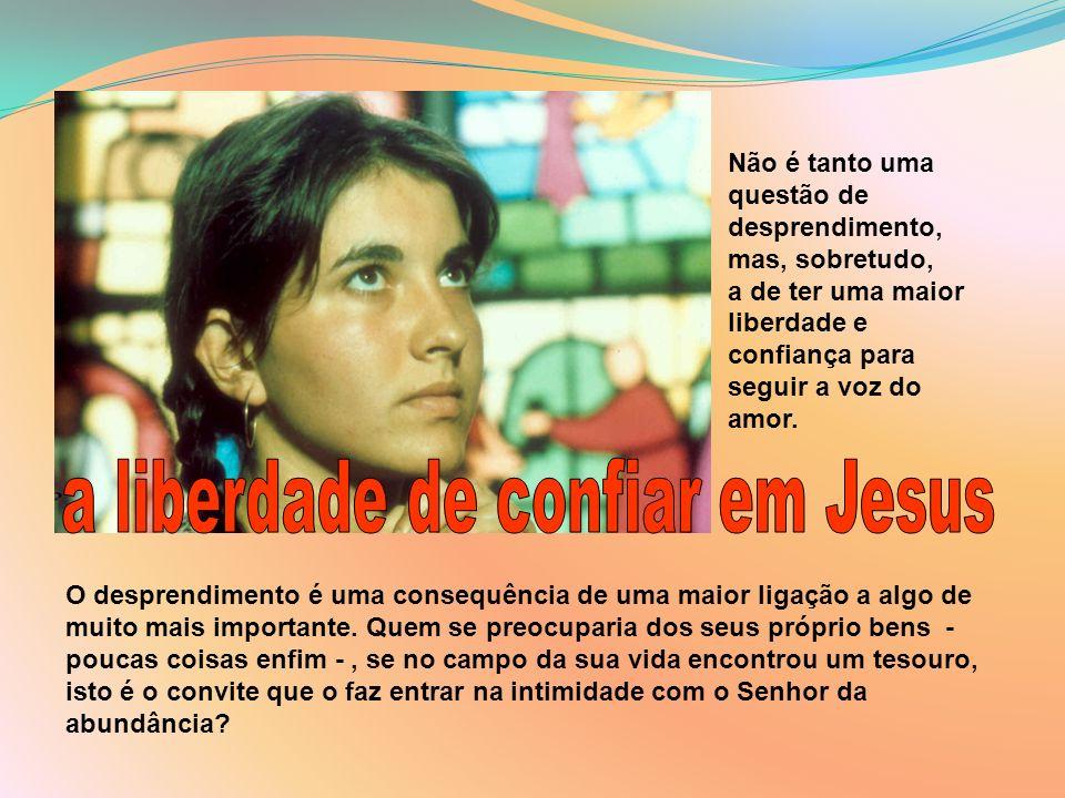 Pensa agora, o que teria acontecido se aquele jovem tivesse dito «sim» a Jesus.