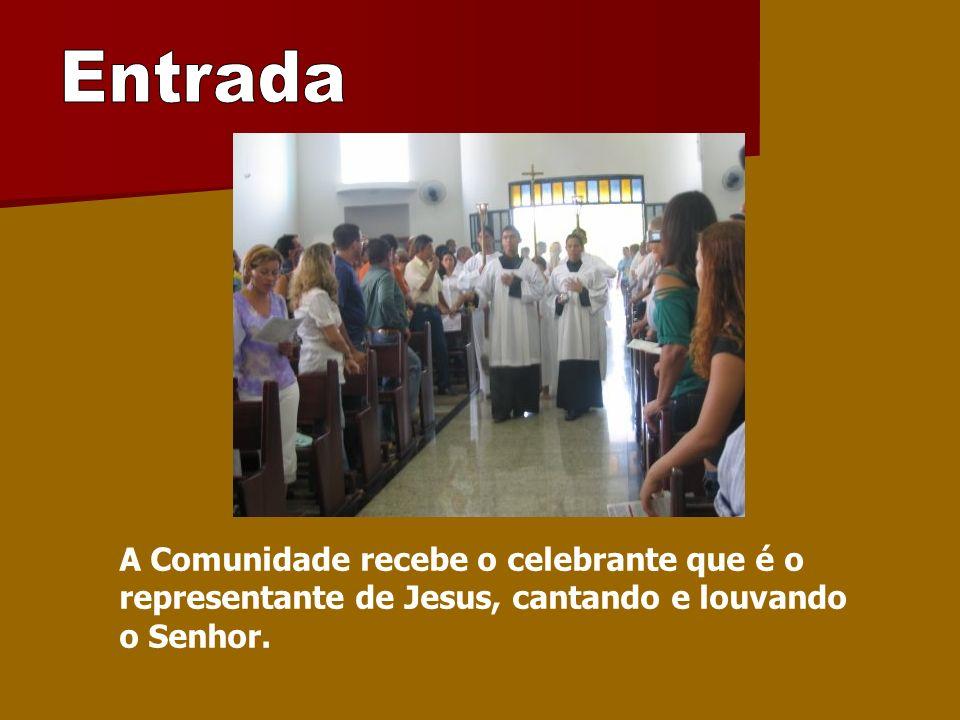 Começamos a celebração com o sinal da cruz.É a maneira mas condensada de expressar a nossa fé.