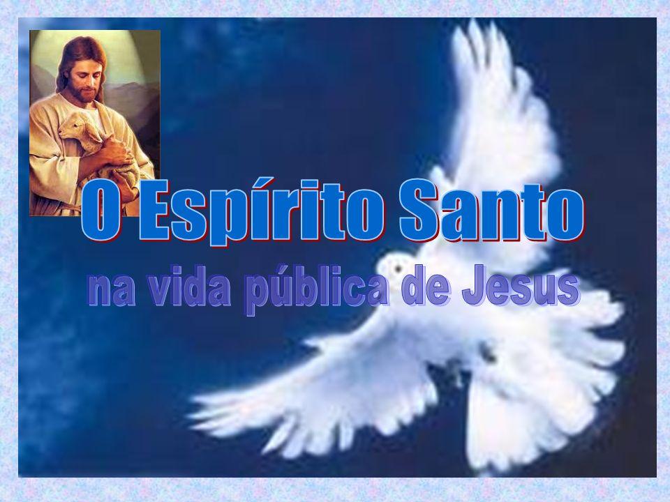 Imediatamente antes de subir ao Céu, Jesus promete a vinda do Espírito Santo: «Eu vou mandar sobre vós o que meu Pai prometeu.