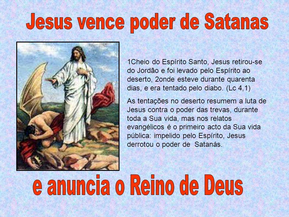 O Espírito Santo constitui, por assim dizer, o equipamento de Jesus que o acompanha em todos os momentos da sua vida pública.