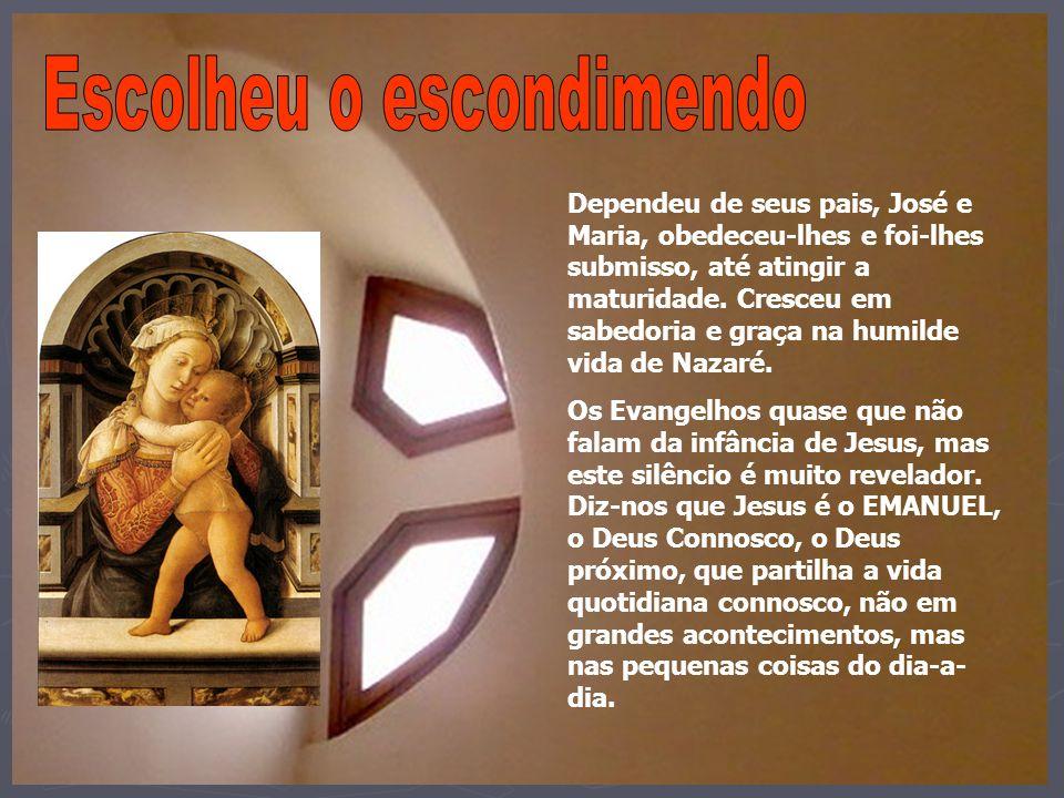 Por amor, tornei-me vulnerável: dependente da manjedoura e dependente da cruz para te dizer: «Eu estou contigo» «E tu estás comigo?» www.padreleo.org