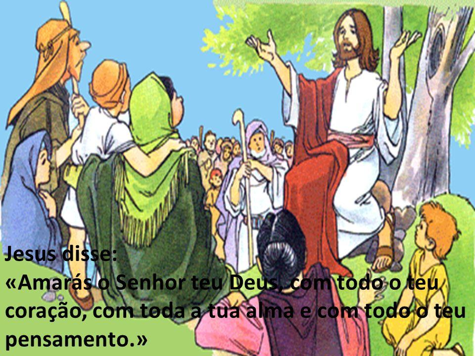 Jesus disse: «O segundo é igual: amarás ao teu próximo como a ti mesmo.»