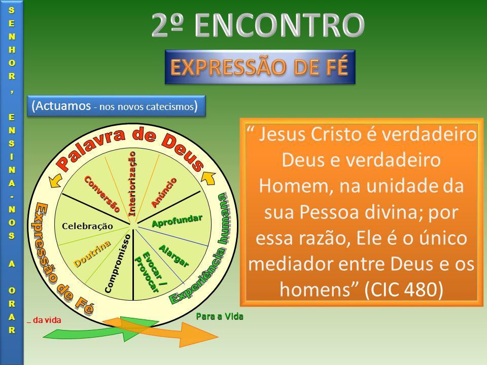 (Actuamos - nos novos catecismos ) Evocar / Provocar Alargar Aprofundar Anúncio Interiorização Conversão Celebração Doutrina Compromisso … da vida Par