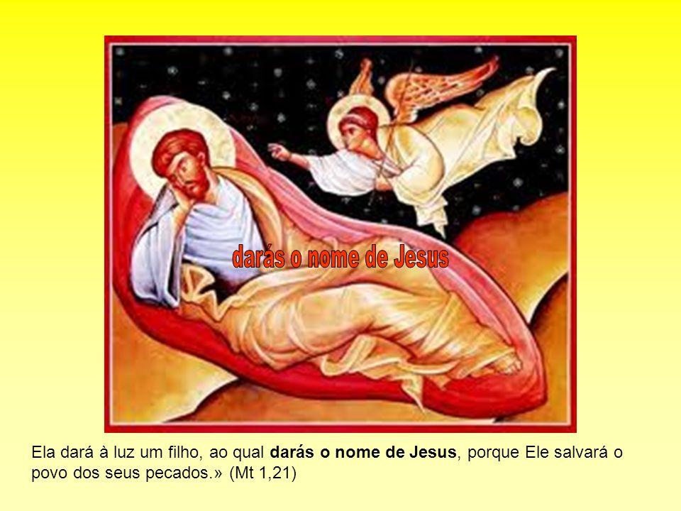 Ela dará à luz um filho, ao qual darás o nome de Jesus, porque Ele salvará o povo dos seus pecados.» (Mt 1,21)