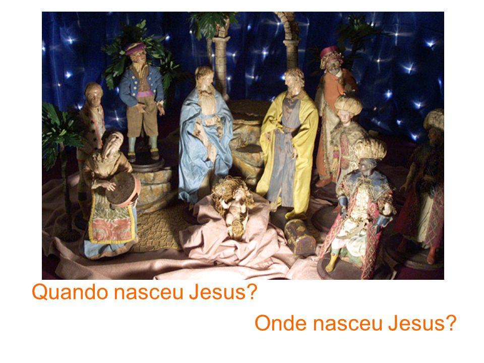 Quando nasceu Jesus? Onde nasceu Jesus?