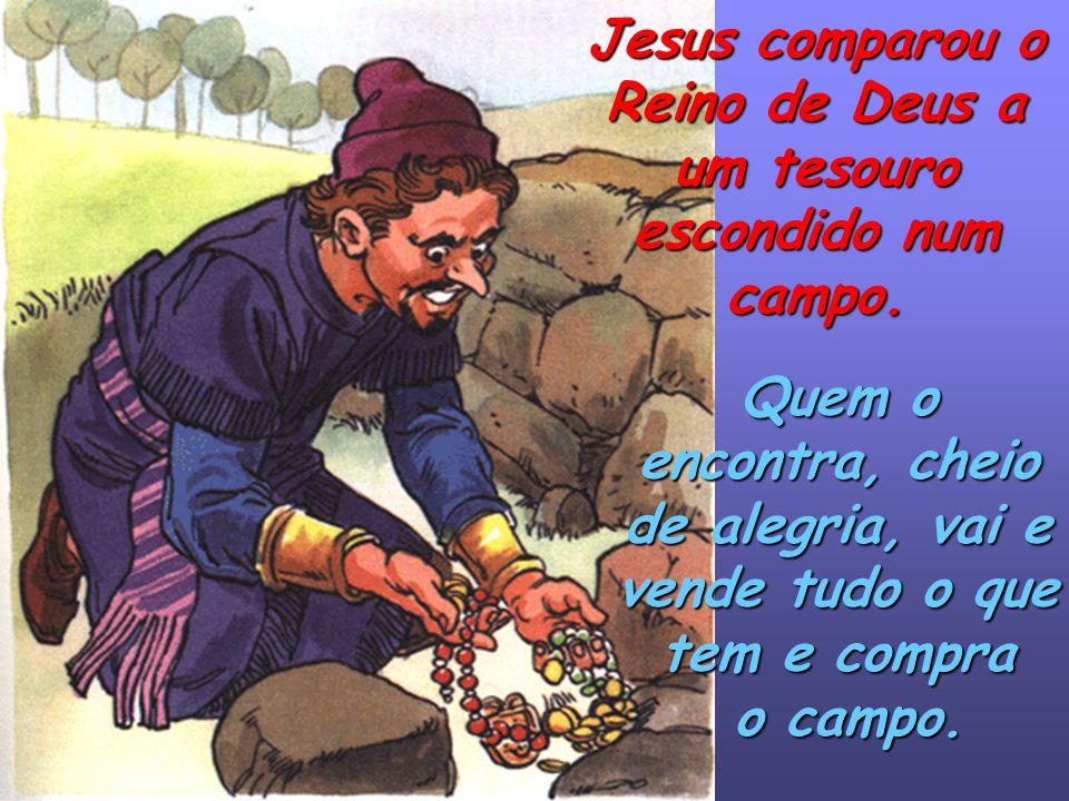 Jesus anuncia-nos o Reino de Deus Quando Jesus tinha 30 anos, saiu de Nazaré e percorreu as cidades e percorreu as cidades e os povos da Palestina, ex