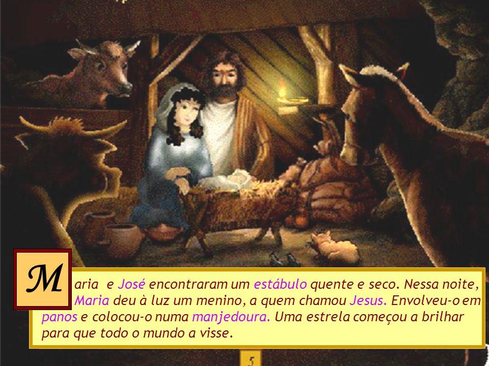 Jesus, toma como refúgio o meu pobre coração uando Maria e José chegaram a Belém, não encontraram onde se hospedarem. A cidade estava cheia de visitan