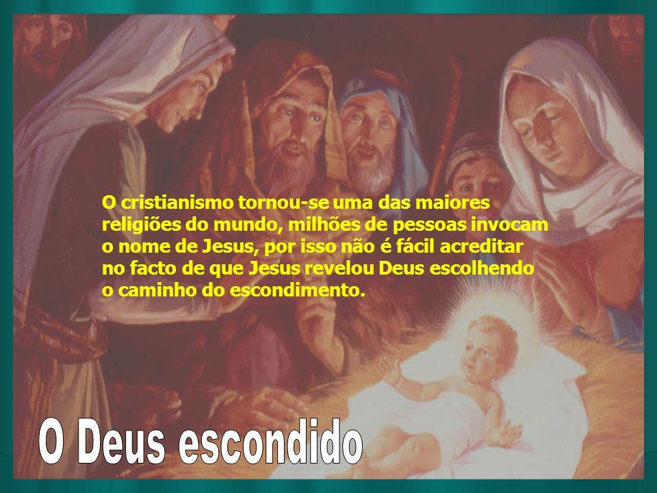 O cristianismo tornou-se uma das maiores religiões do mundo, milhões de pessoas invocam o nome de Jesus, por isso não é fácil acreditar no facto de qu