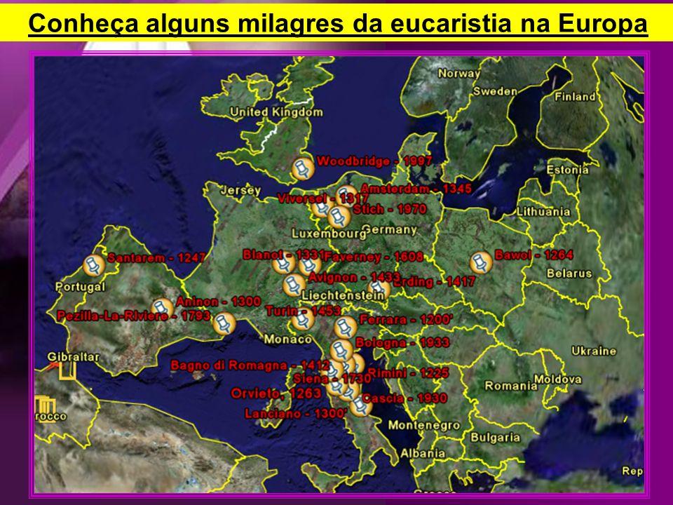 Conheça alguns milagres da eucaristia na Europa