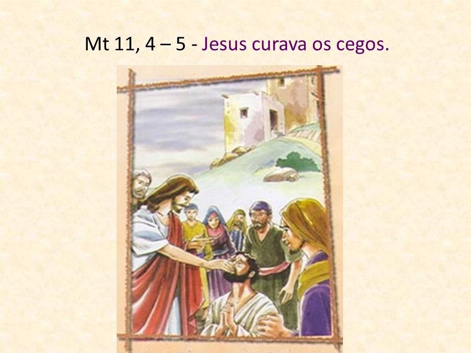 Jesus não se limitava a anunciar o Reino de Deus (Aquilo que Deus faz para fazer as pessoas felizes) Jesus também fazia as pessoas felizes, afastando
