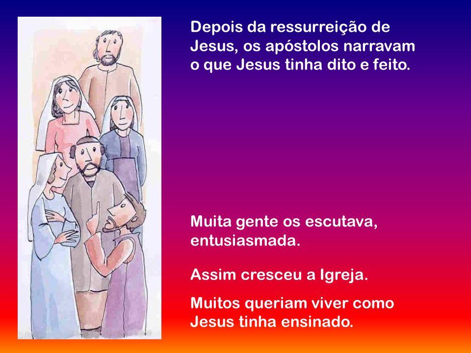 Pouco antes de morrer, Jesus reuniu-se para cear com os seus amigos, os apóstolos, e para celebrar a Páscoa. Depois da ceia distribuiu pão e vinho e d