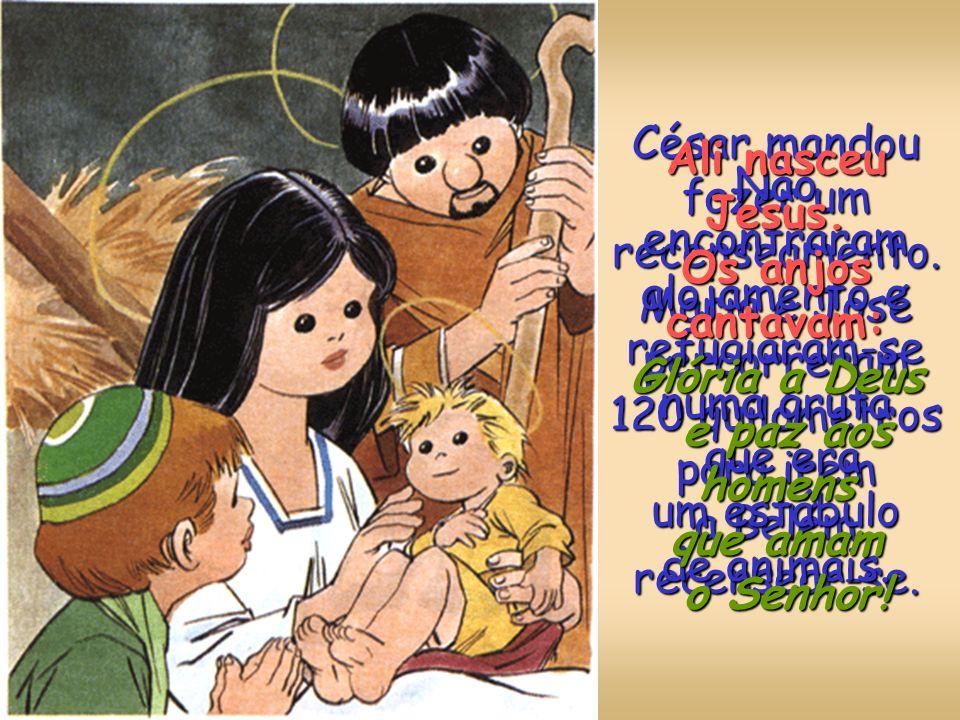O arcanjo disse-lhe também que a sua prima Isabel ia ter um menino. Maria foi visitar Isabel. Ao entrar em casa de Zacarias, o menino de Isabel saltou