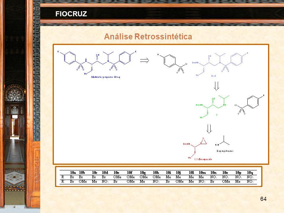 64 FIOCRUZ Análise Retrossintética
