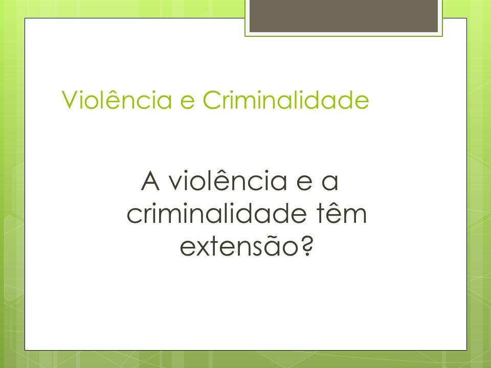 Características destes crimes (homicídios) Onde acontecem.