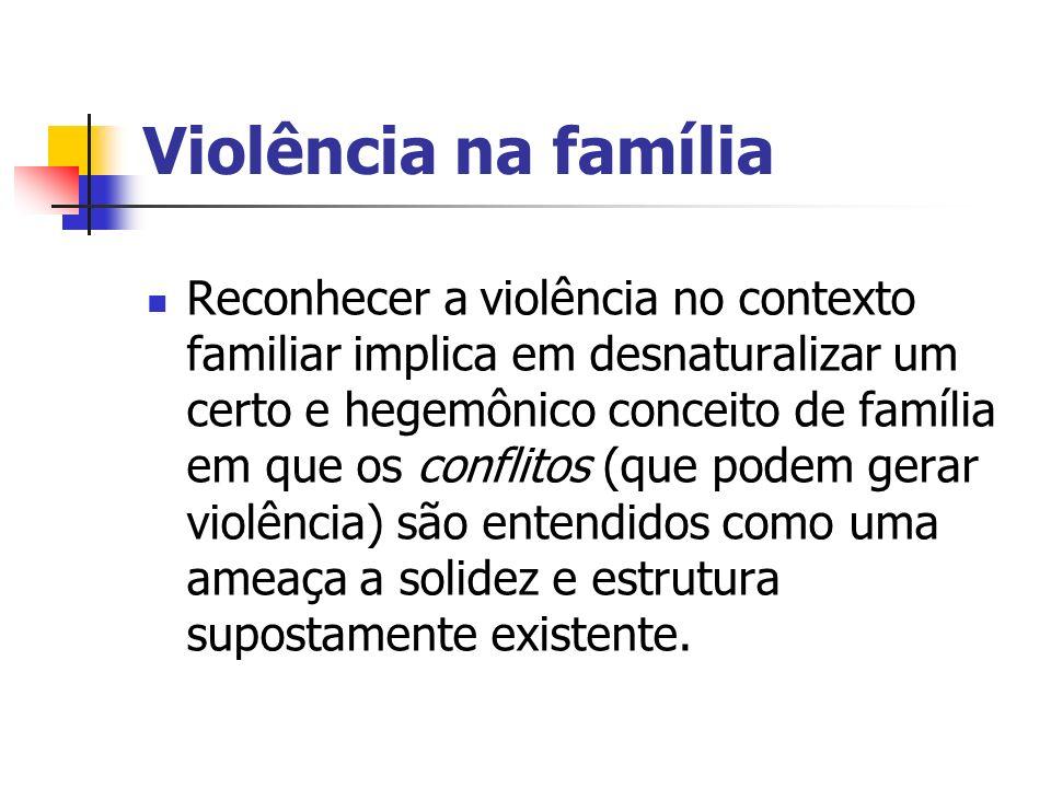 Definição de Família Grupo de pessoas com vínculos afetivos, de consaguinidade ou de convivência (MS, 2002) Família é com quem eu posso contar (UNICEF, 2005)