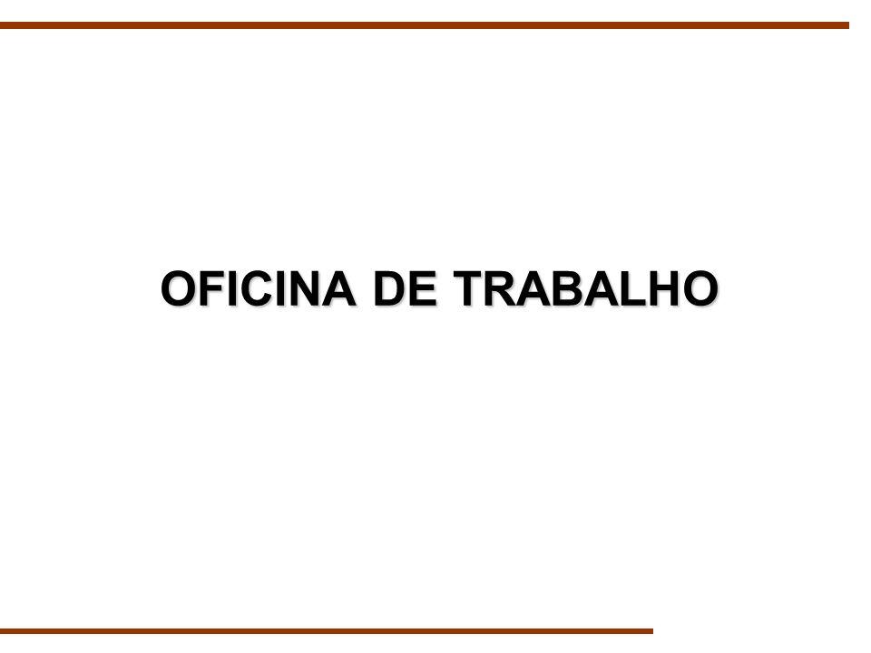 OFICINA DE TRABALHO