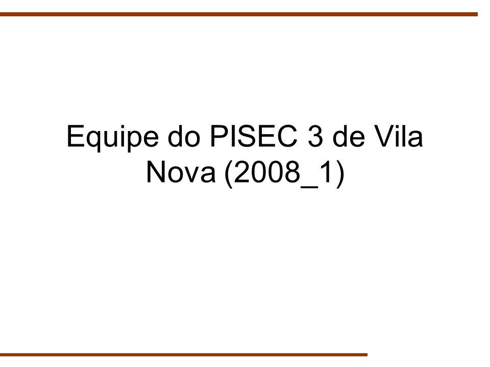 Equipe do PISEC 3 de Vila Nova (2008_1)
