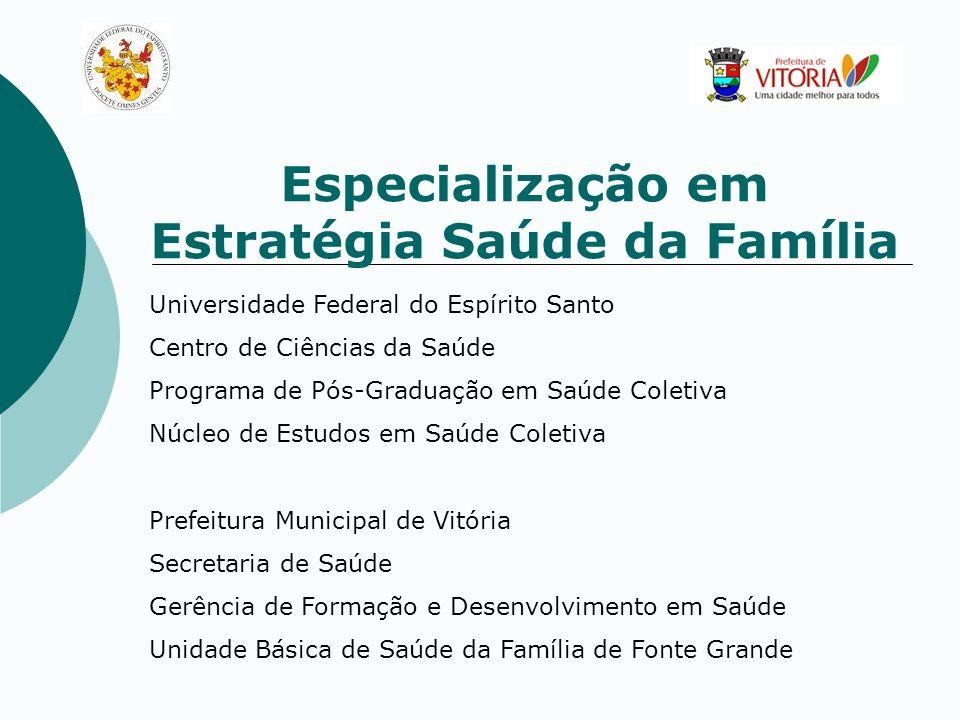 Universidade Federal do Espírito Santo Centro de Ciências da Saúde Programa de Pós-Graduação em Saúde Coletiva Núcleo de Estudos em Saúde Coletiva Pre