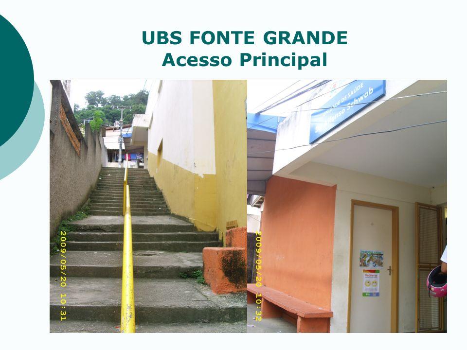 UBS FONTE GRANDE Acesso Principal