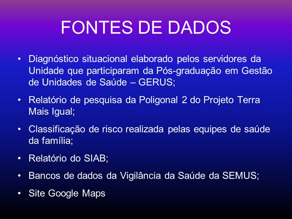 ÁREA DE ABRANGÊNCIA Bairros: Forte São João Romão Cruzamento Área se estende de Jucutuquara até a Esplanada Capixaba, no centro da cidade.