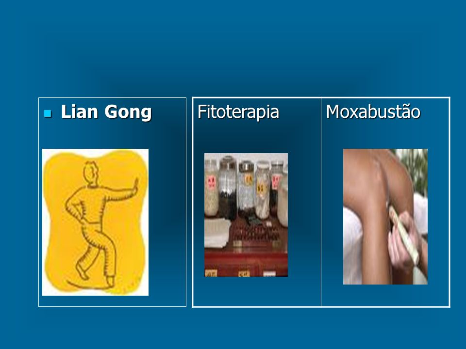 Lian Gong Lian Gong FitoterapiaMoxabustão