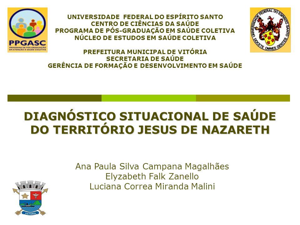 JESUS DE NAZARETH A área do bairro é delimitada pela Avenida Marechal Mascarenhas de Moraes, às margens da baía de Vitória, cercado pelas comunidades de Bento Ferreira e Praia do Suá.