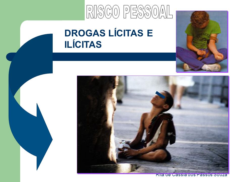 Rita de Cássia dos Passos Souza DROGAS LÍCITAS E ILÍCITAS