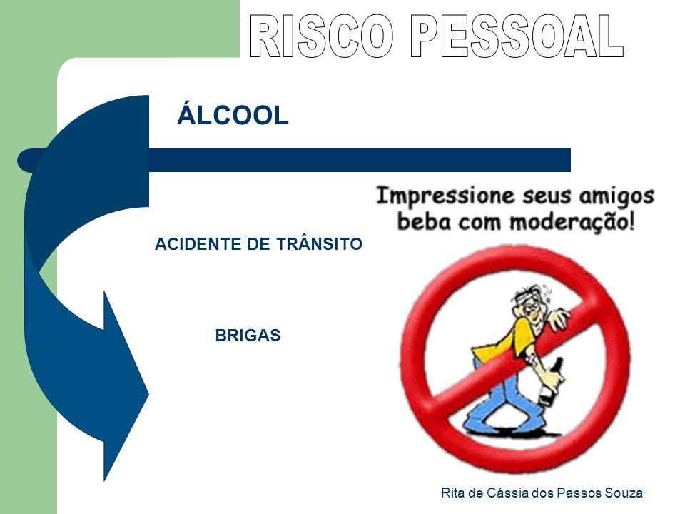 Rita de Cássia dos Passos Souza ÁLCOOL ACIDENTE DE TRÂNSITO BRIGAS