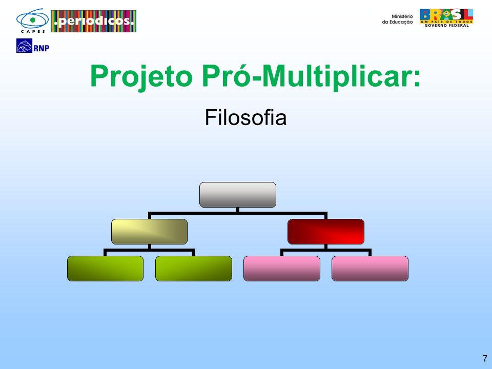 7 Projeto Pró-Multiplicar: Filosofia