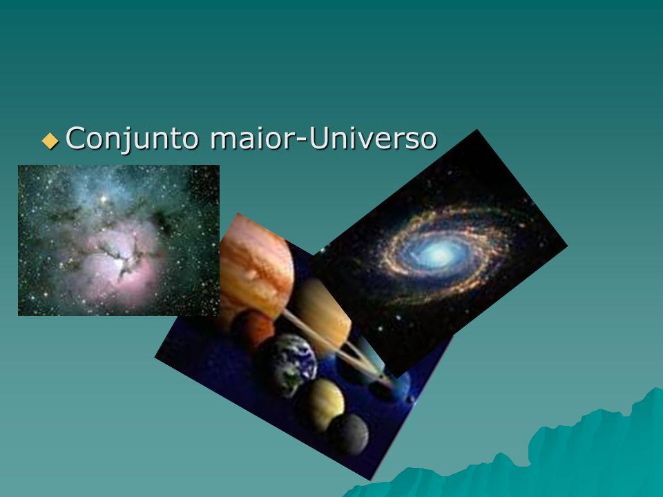 Conjunto maior-Universo Conjunto maior-Universo